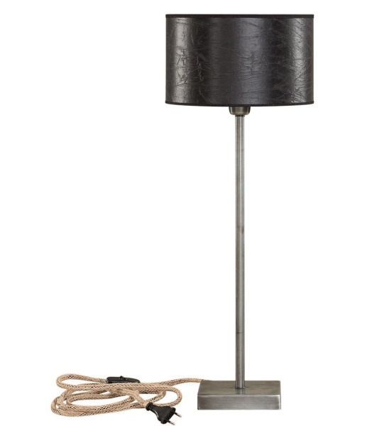 Artwood Pewter Lampstand, Iron