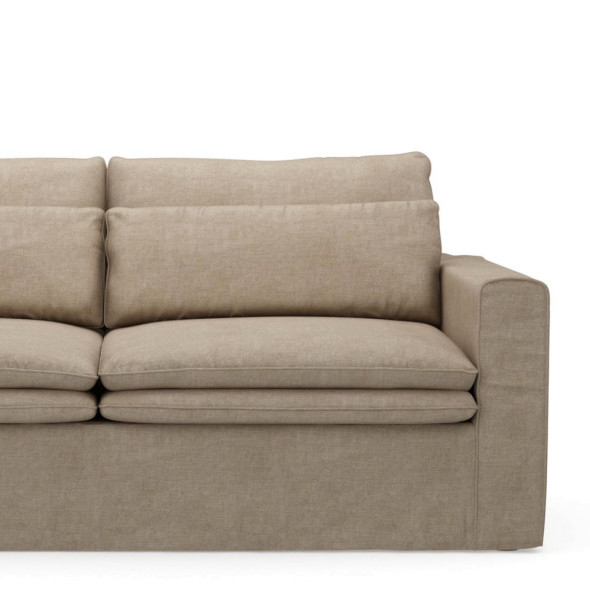 Sofa Continental 2,5 Sitzer, Washed Cotton