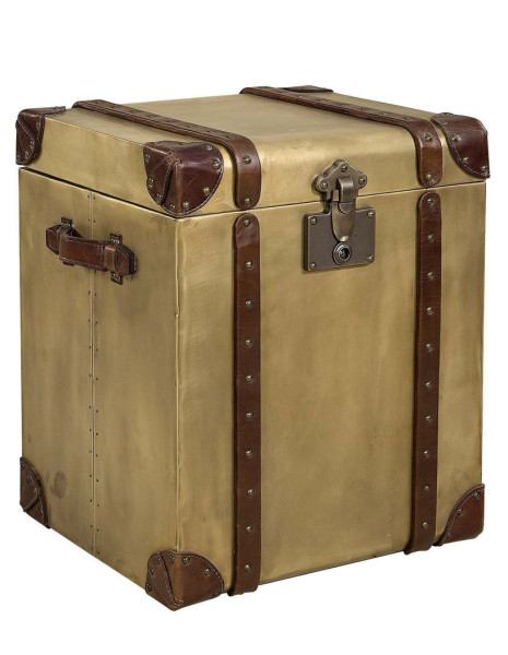 Artwood Durban Trunk, Old Brass