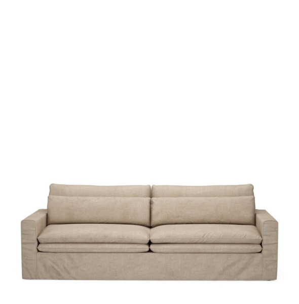 Sofa Continental 3,5 Sitzer, Washed Cotton
