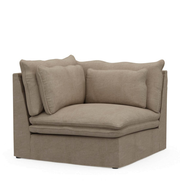 Eckmodulsofa Continental, Washed Cotton