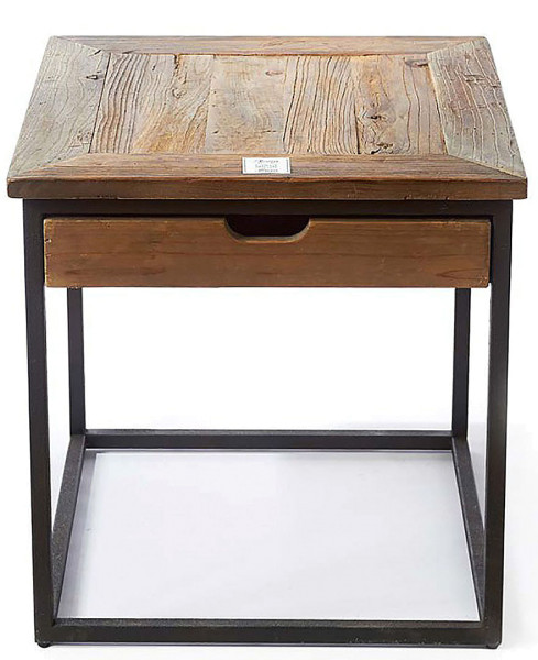 Rivièra Maison Shelter Island End Table mit Schublade
